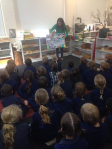 Book week presentation of Beyond Our Garden Gate